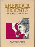 Sherlock Holmes in portrait and profile