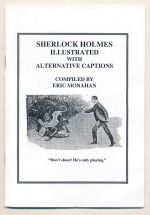 Sherlock Holmes illustrated with alternative captions