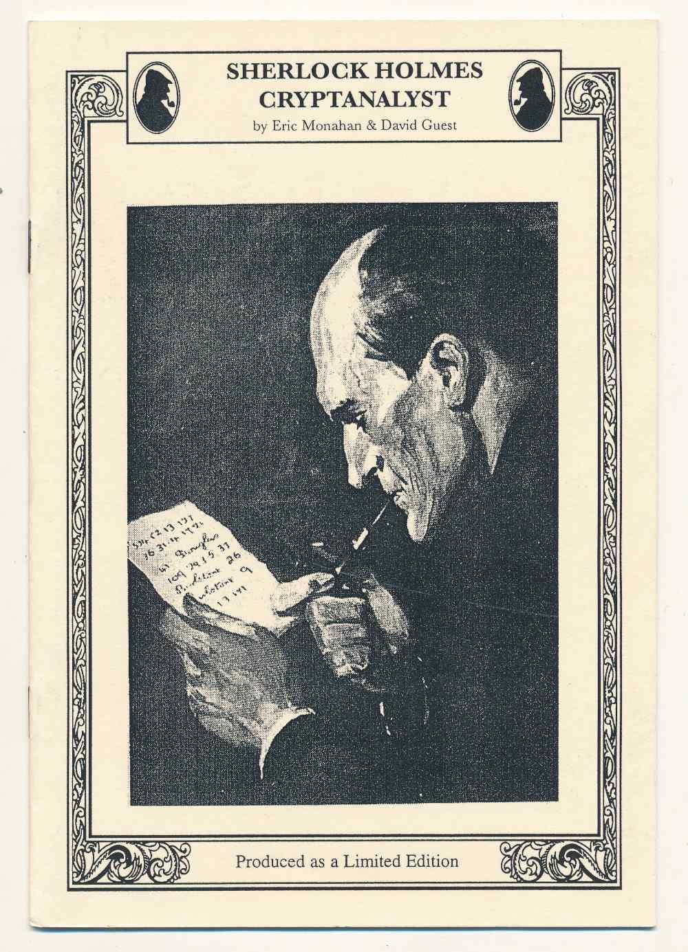 Sherlock Holmes cryptanalyst
