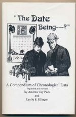 """The date being - ?"" A compendium of chronological data"