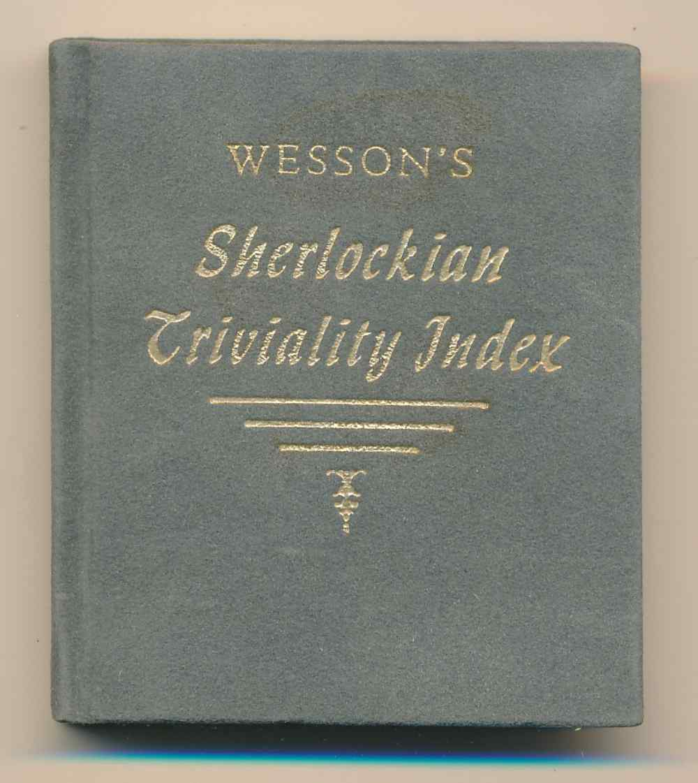 The Sherlockian triviality index