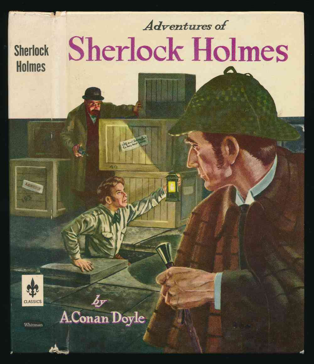Adventures of Sherlock Holmes : eight popular stories especially selected and edited