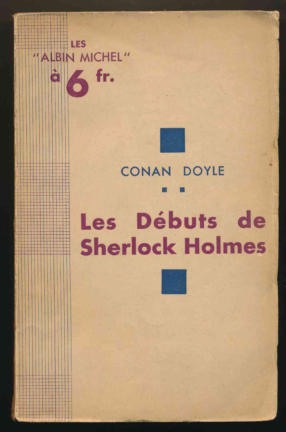 Les débuts de Sherlock Holmes