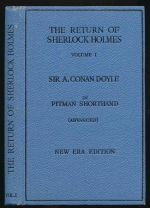 The return of Sherlock Holmes engraved in the  advanced stage of Pitman's shorthand
