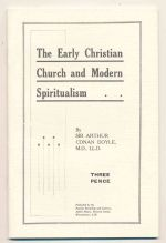 The early Christian church and modern spiritualism