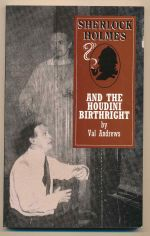 Sherlock Holmes and the Houdini birthright