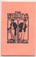 The detective business