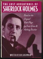 The lost adventures of Sherlock Holmes based on the original plays by Dennis Green and Anthony Boucher