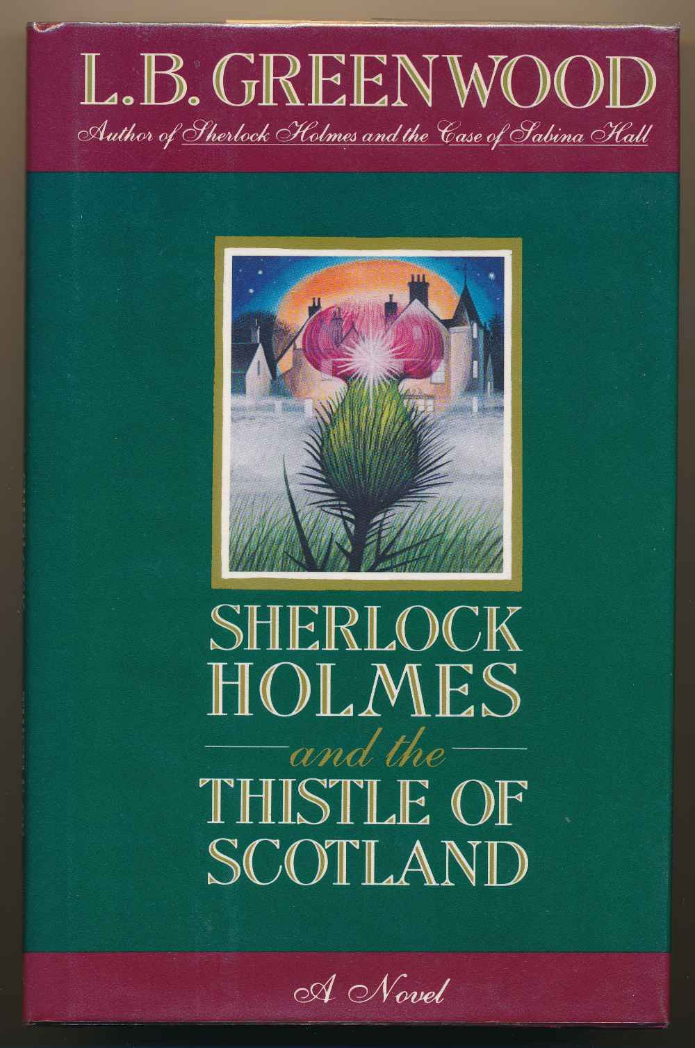 Sherlock Holmes and the thistle of Scotland