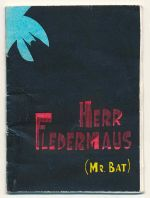 Herr Fledermaus : sketch for an essay in woodcuts