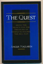 The quest : being the search for the treasure of Sherlock Holmes, the 22nd man
