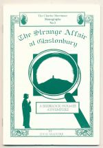 The strange affair at Glastonbury : a Sherlock Holmes adventure
