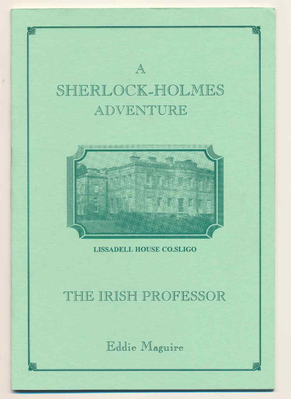 The Irish professor