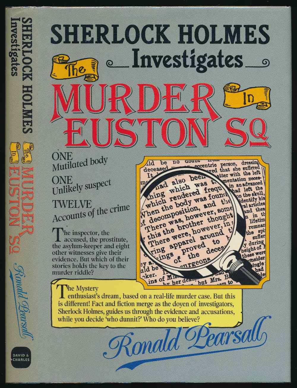 Sherlock Holmes investigates the murder in Euston Square