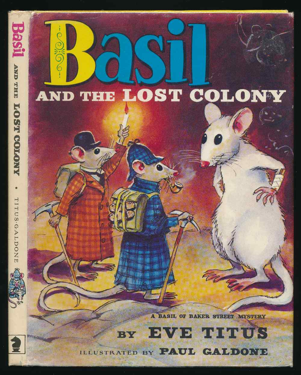 Basil and the lost colony : a Basil of Baker Street mystery