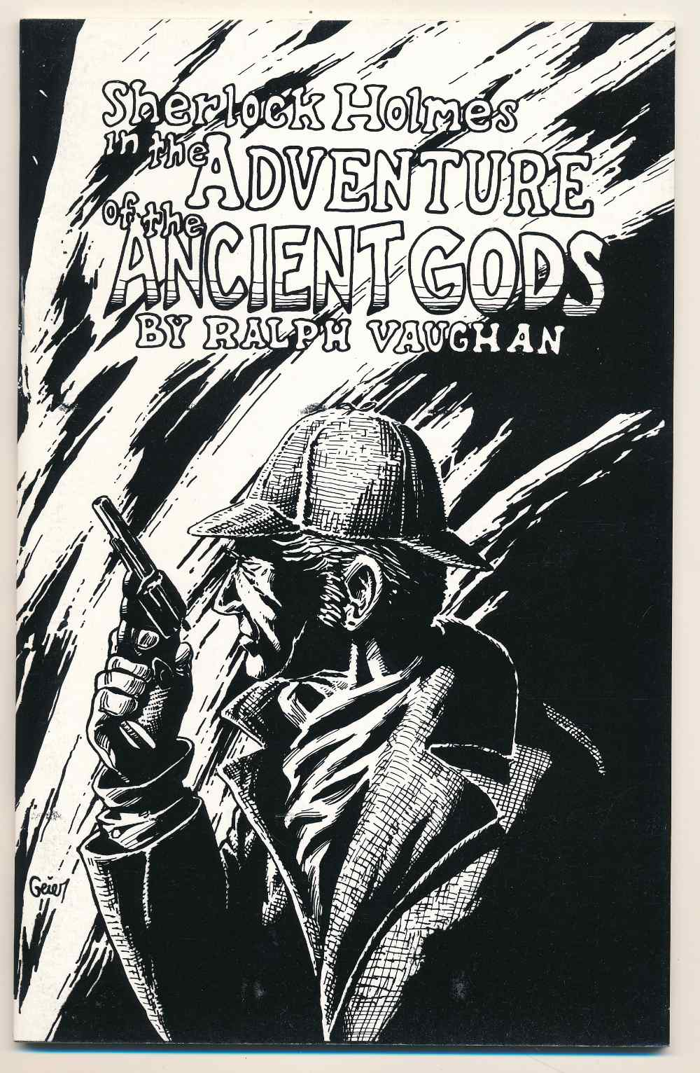 Sherlock Holmes in the adventure of the ancient gods