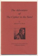 The adventure of the cipher in the sands