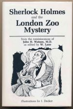 Sherlock Holmes and the London Zoo mystery