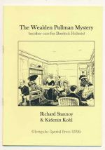 The Wealden Pullman mystery : another case for Sherlock Holmes