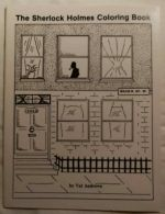 The Sherlock Holmes coloring book