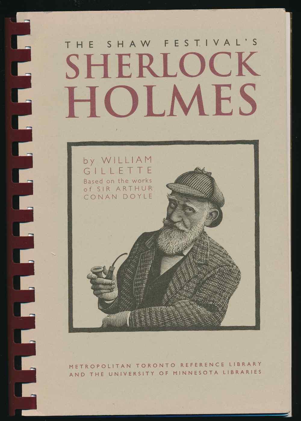 The Shaw Festival's Sherlock Holmes