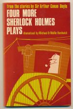 Four more Sherlock Holmes plays