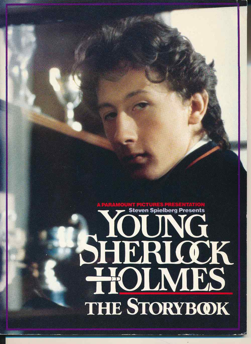 Young Sherlock Holmes : the storybook