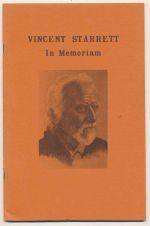 Vincent Starrett : in memoriam
