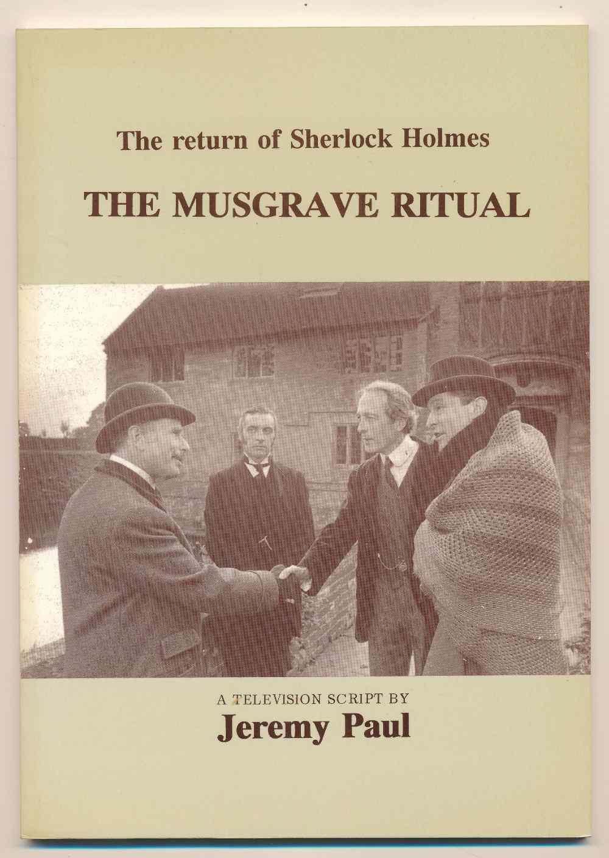 The Musgrave ritual : a television script