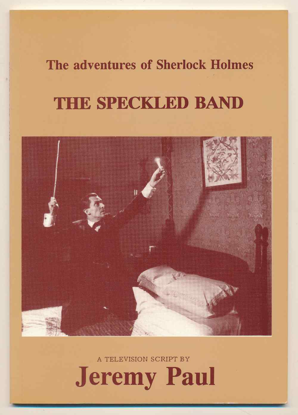 The speckled band : a television script