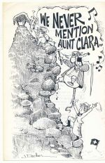 We never mention Aunt Clara