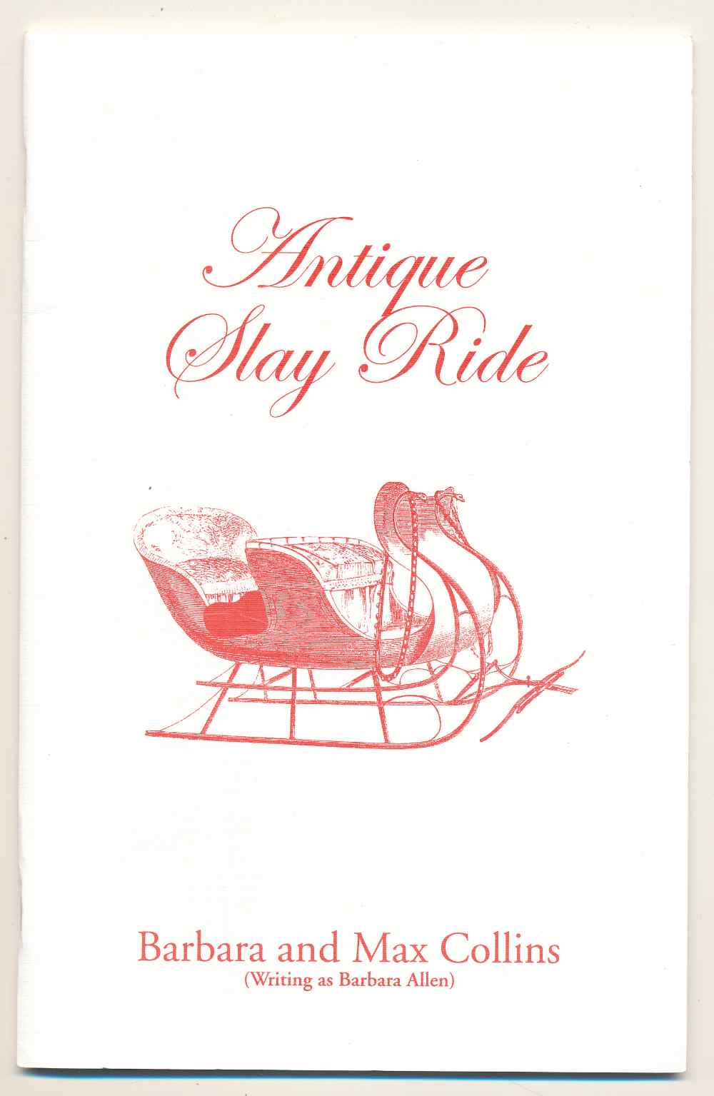Antique slay ride