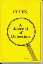 Clues : A Journal of Detection