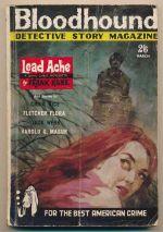 Bloodhound Detective Story Magazine