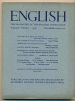 English : the Magazine of the English Association