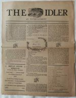 The Idler : an Entertainment