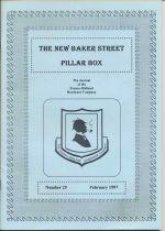 The New Baker Street Pillar Box