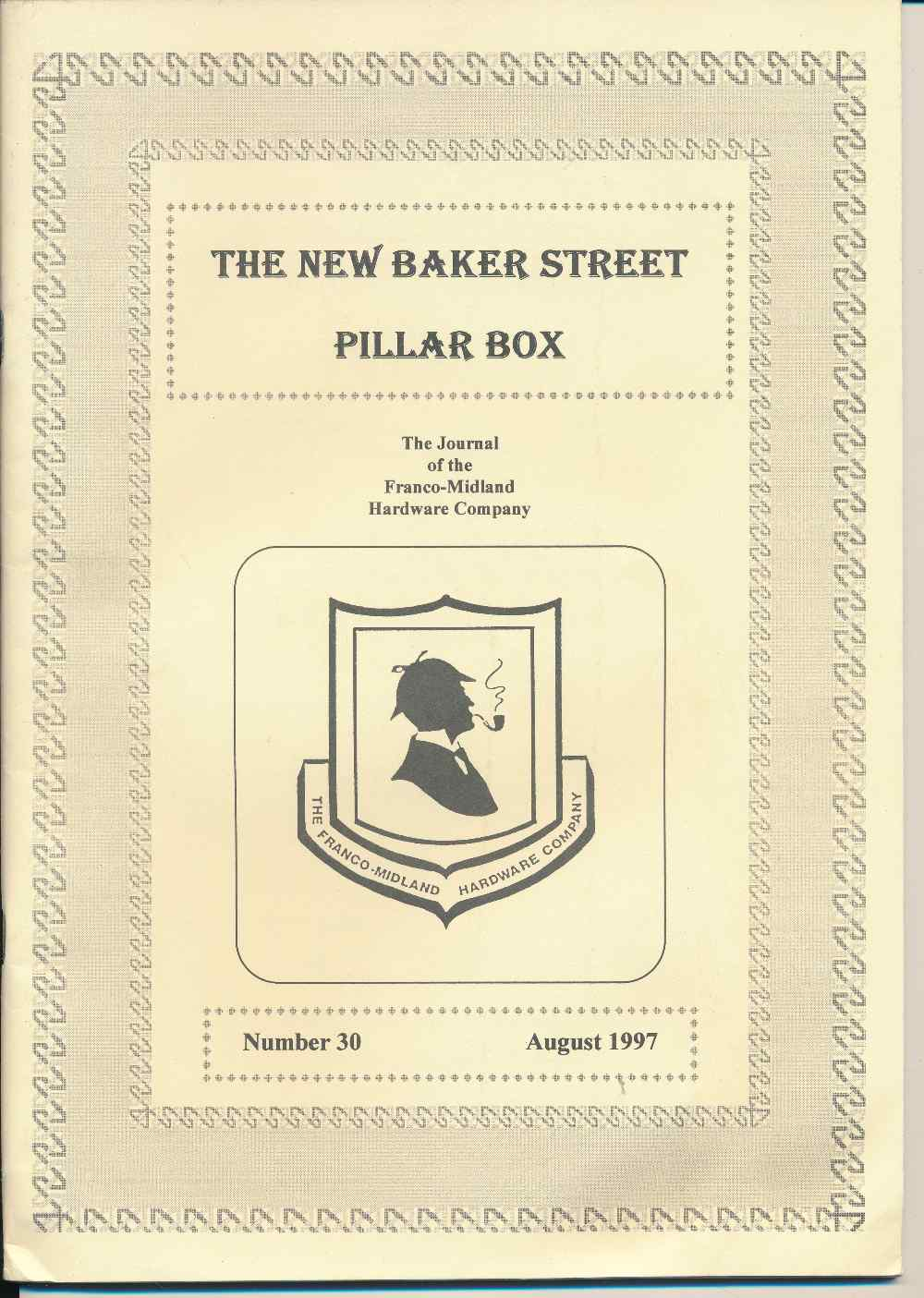 The New Baker Street Pillar Box