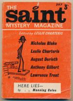 The Saint Mystery Magazine