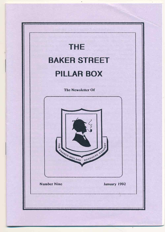 The Baker Street Pillar Box