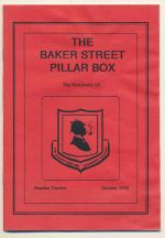 The Baker Street Pillar Box