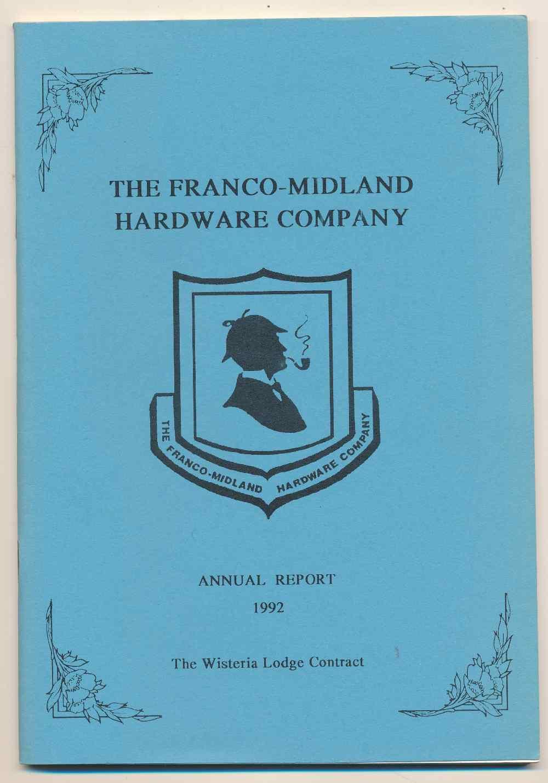 The Franco-Midland Hardware Company Annual Report