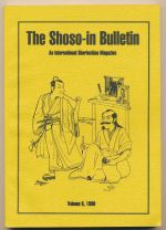 The Shoso-in Bulletin