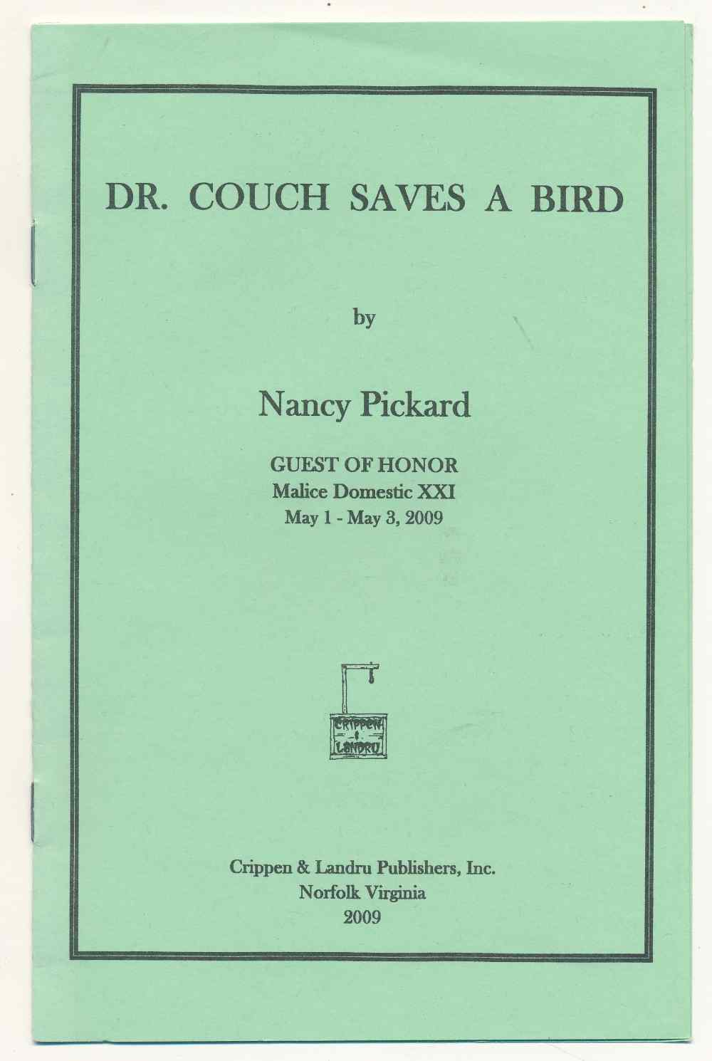Dr. Couch saves a bird