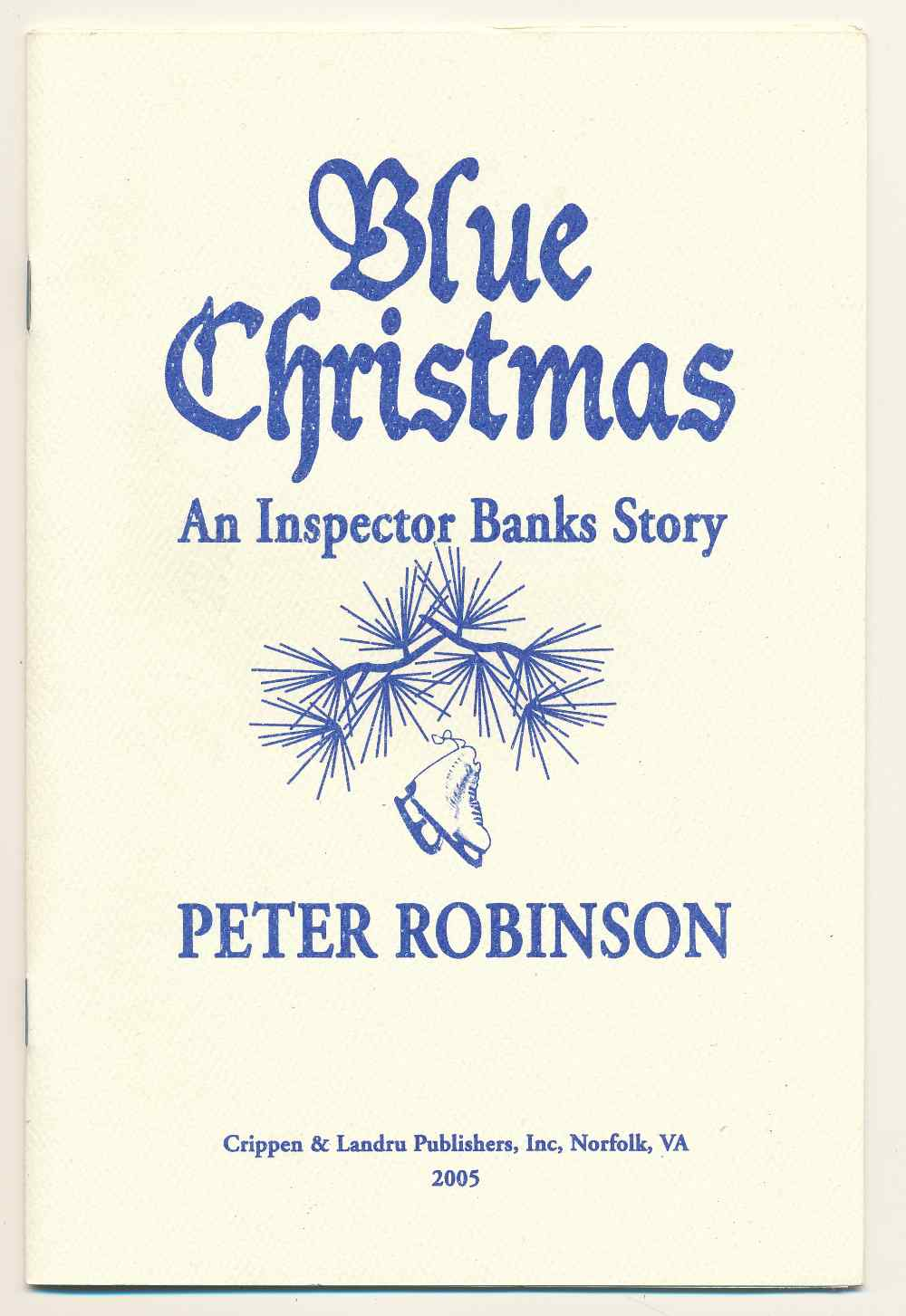 Blue Christmas : an Inspector Banks story
