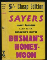Busman's honeymoon : a love story with detective interruptions